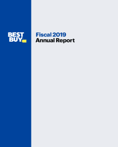 Best Buy Co , Inc  - Investor Relations - Financial Info