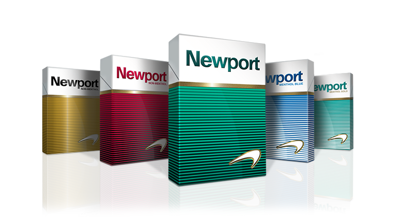 newport cigarette packs