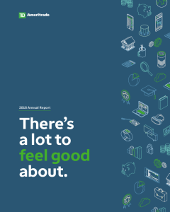TD Ameritrade - Investor Relations - Annual Reports