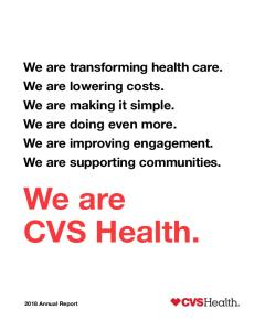 CVS Health - Investors