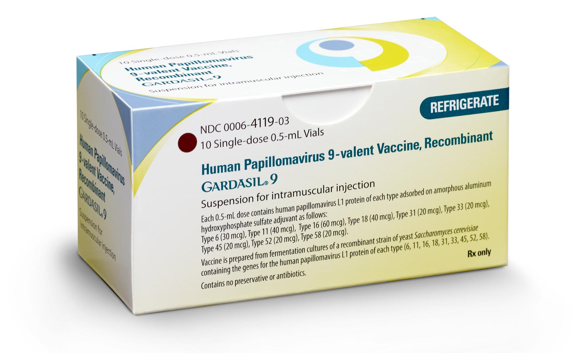 human papillomavirus 9 valent vaccine recombinant)