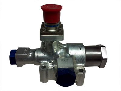 solenoid operated Isolation valve