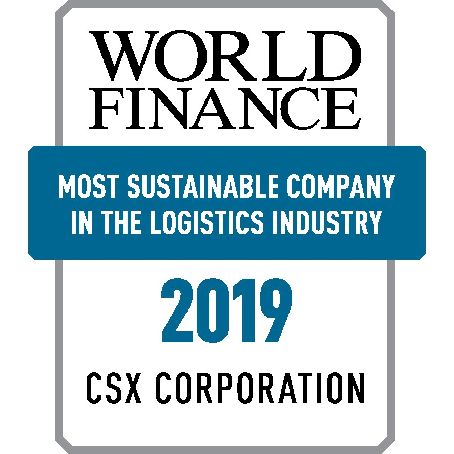 CSX Corporation 2019 Award Logo Transparent